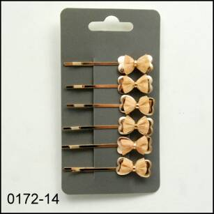 HAIRGRIPS WITH BOWKNOTS 0172-14