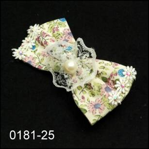 HAIR CLIPS WITH BOWKNOTS 0181-25