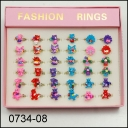KIDS RINGS (36 SZT) 0734-08