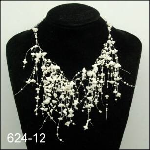 NECKLACE + EARRINGS SET 624-12