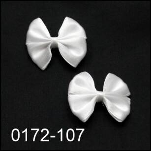 HAIR CLIPS WITH BOWKNOTS 0172-107