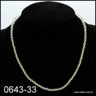 JEWELRY SET BEADS NECKLACE + BRACELET 0643-33