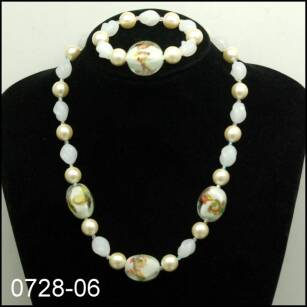 JEWELRY SET NECKLACE + BRACELET 0728-06